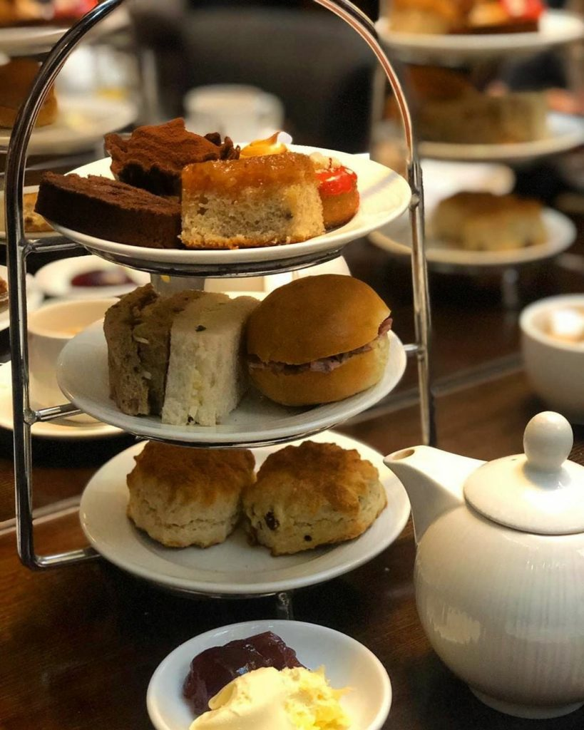 afternoon tea London - Courthouse Hotel