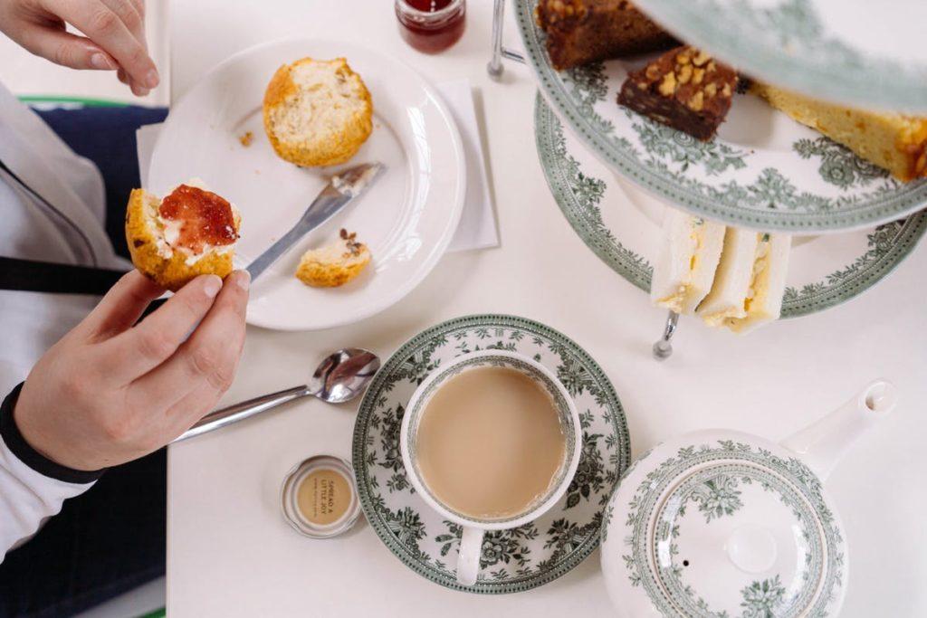 afternoon tea London - Underneath the cutty sark