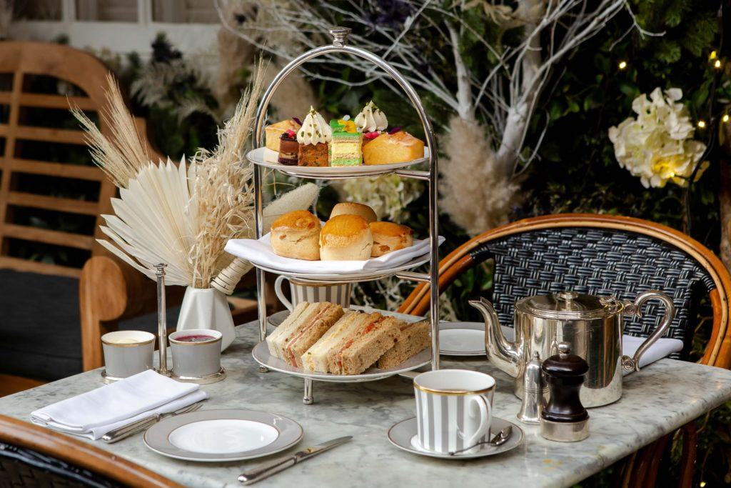 afternoon tea London - Dalloway Terrace