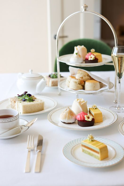 afternoon tea London - The Dorchester
