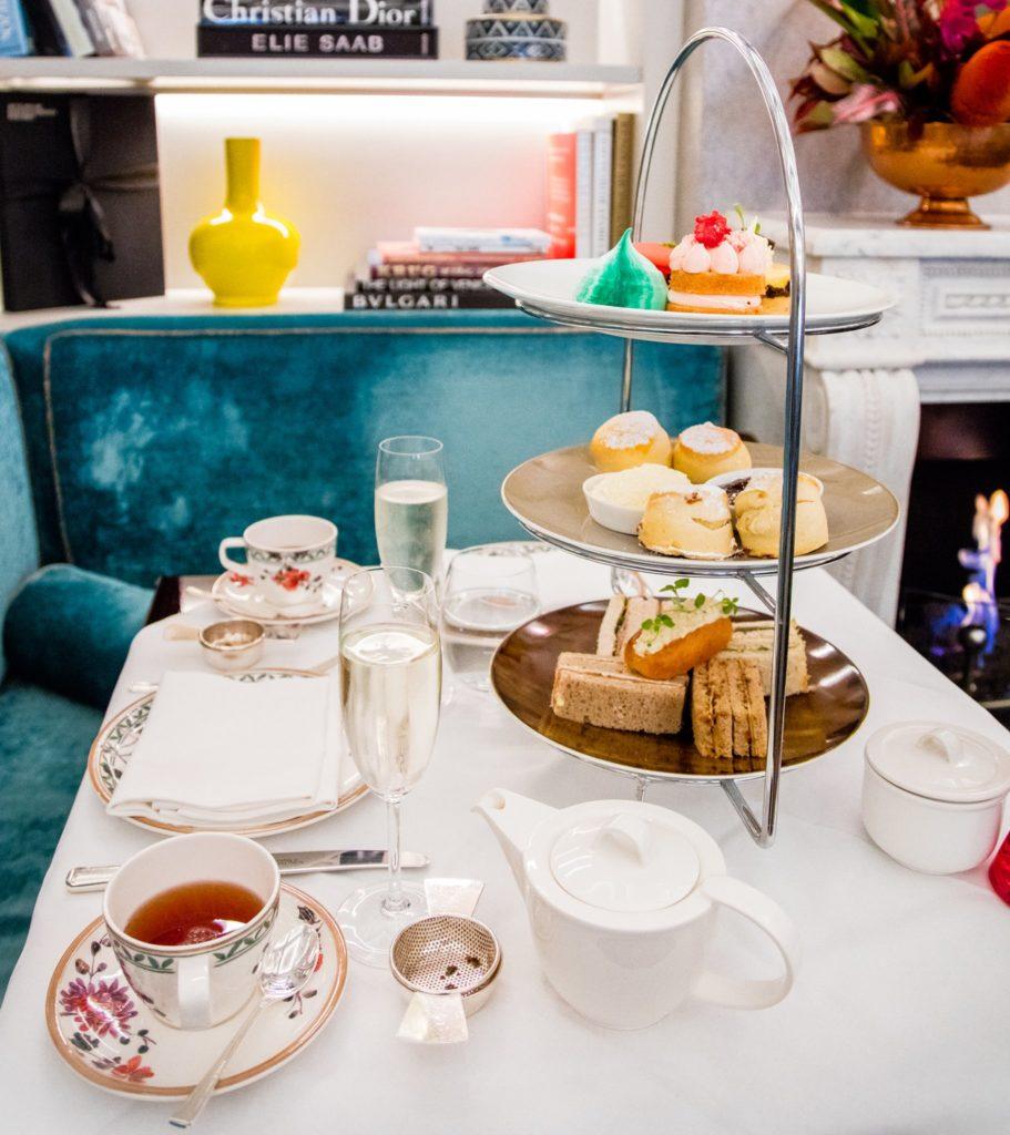 afternoon tea London - Flemings