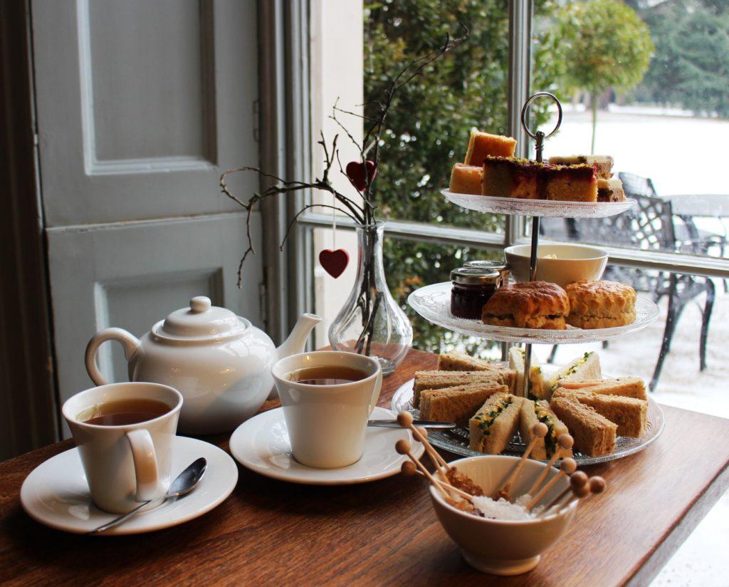 afternoon tea London - Fulham Palace Cafe
