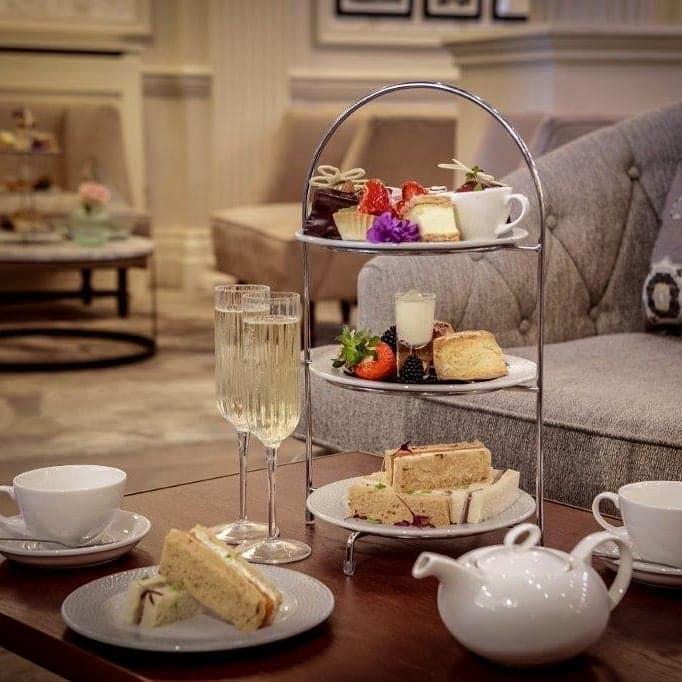 afternoon tea Harrogate - Doubletree by Hilton Majestic Hotel