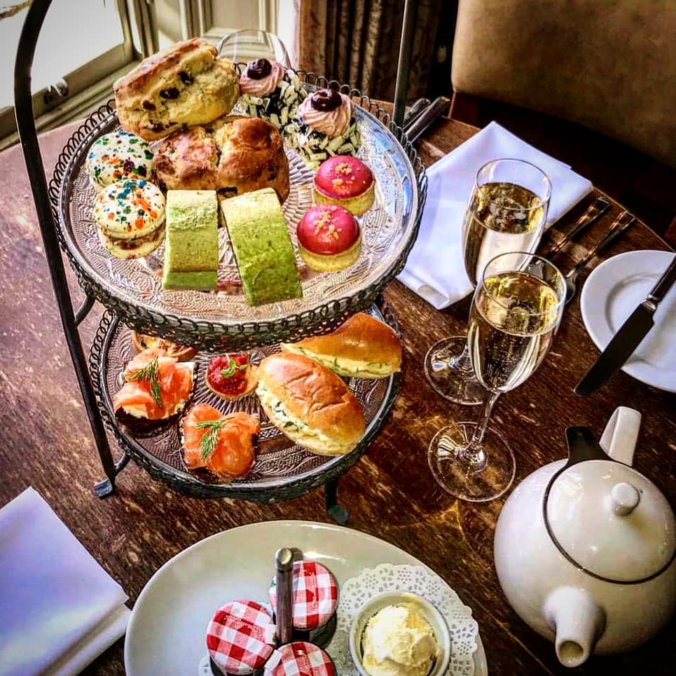 afternoon tea Harrogate - Hotel Du Vin