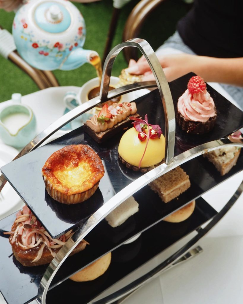 afternoon tea London - Hush Brasserie Mayfair