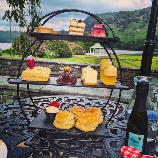 afternoon tea Lake District - Inn on The Lake
