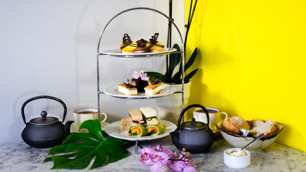 afternoon tea London - Kew Gardens