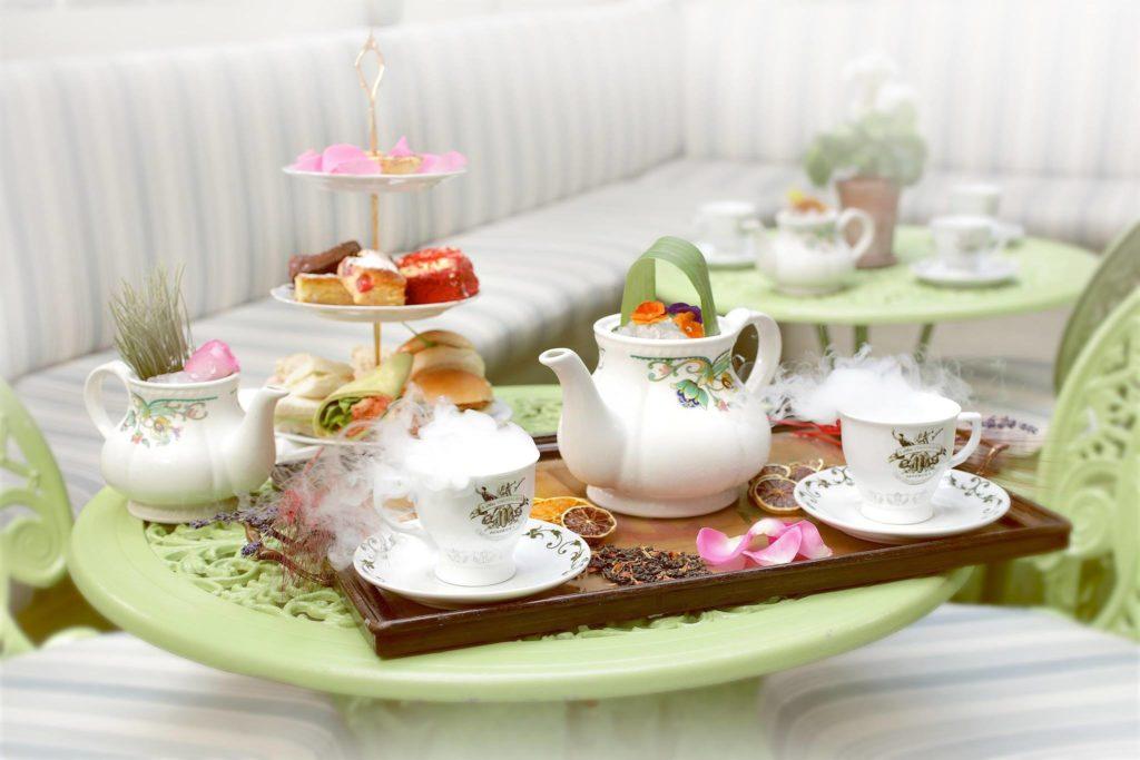 afternoon tea London - Mr Foggs
