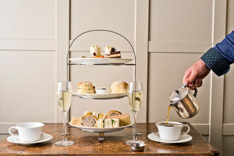 afternoon tea Lake district - Rothay Manor Hotel