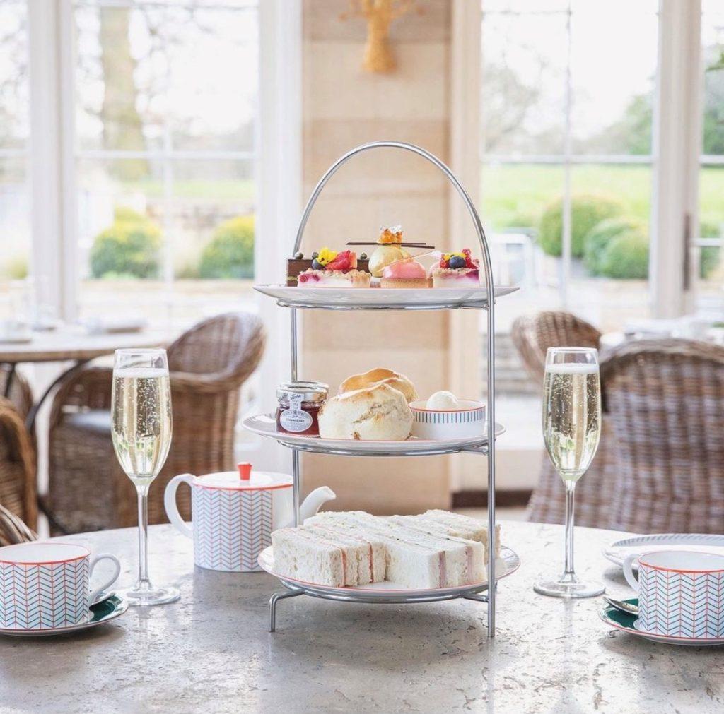 afternoon tea Harrogate - Rudding Park Hotel