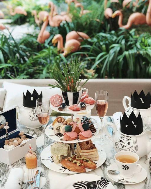 afternoon tea London - The Sanderson