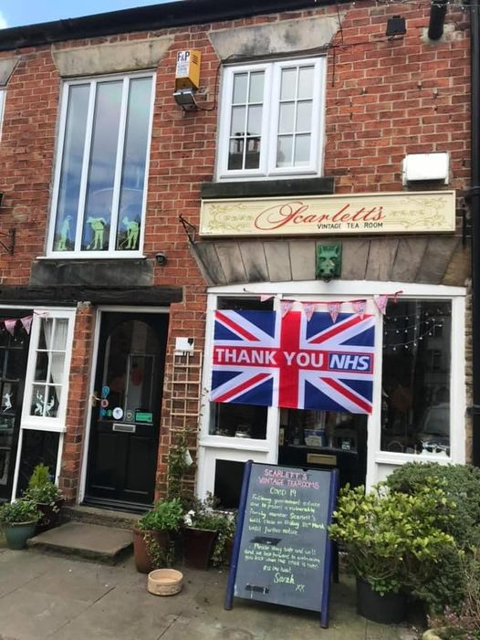 afternoon tea Harrogate - Scarlett's Vintage Tea Rooms