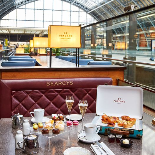 afternoon tea London - St Pancras by Searcys Brasserie