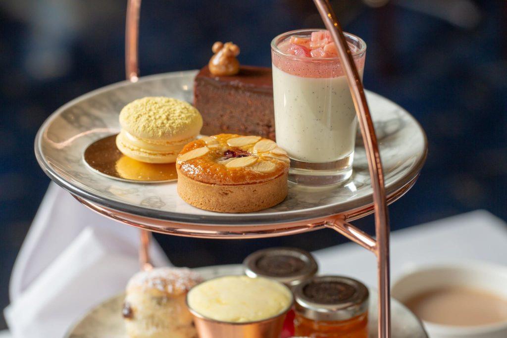 afternoon tea London - Sunborn Yacht Hotel