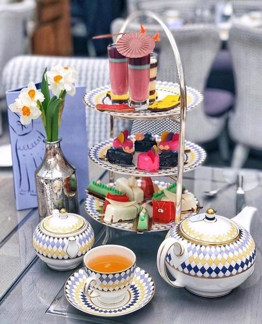 afternoon tea London - The Berkeley