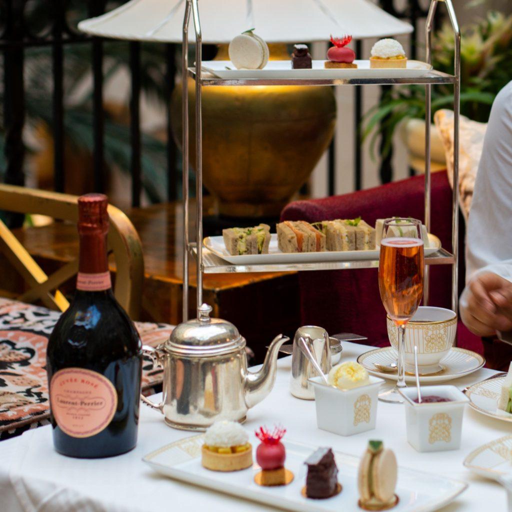 afternoon tea London - The Landmark Hotel
