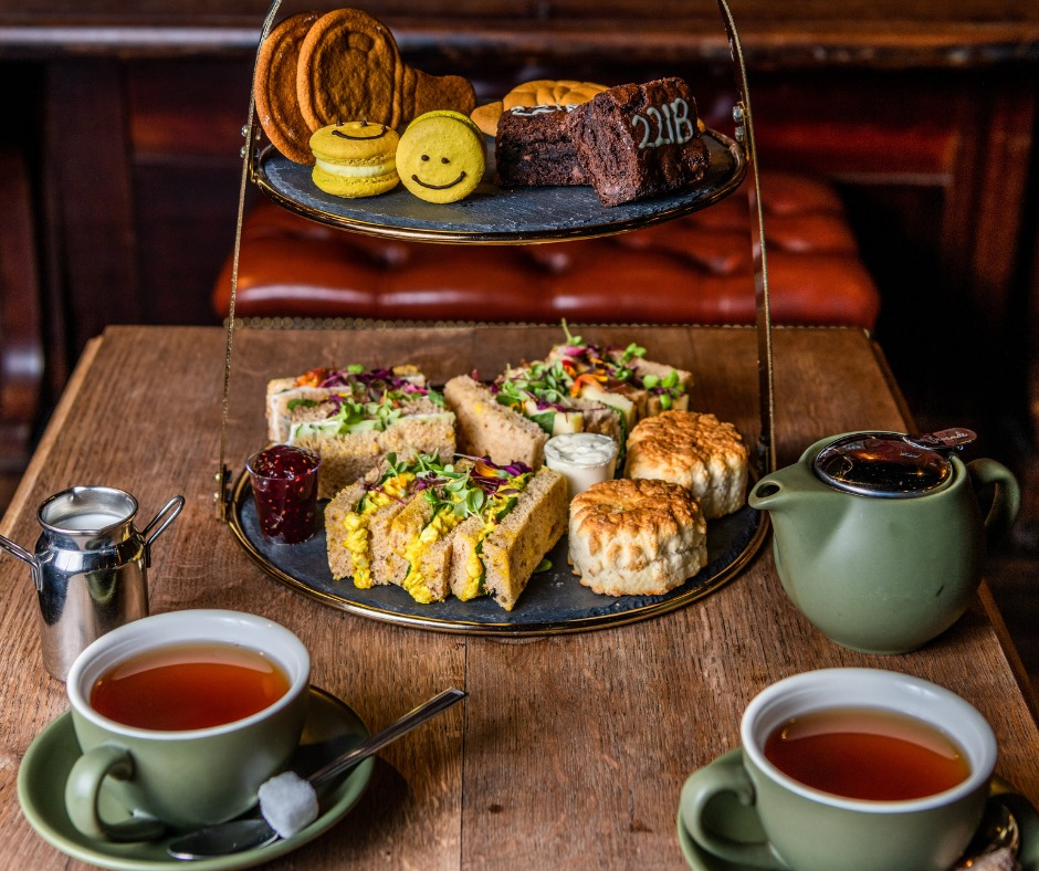afternoon tea London - The Mind Palace
