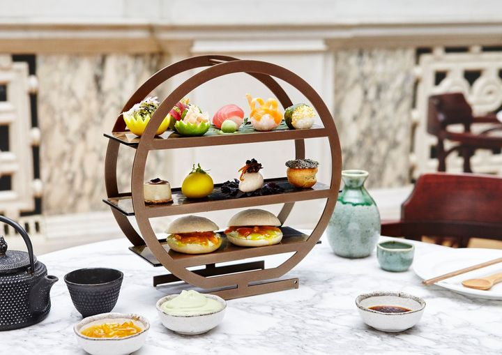 afternoon tea London - Kaia at the Ned