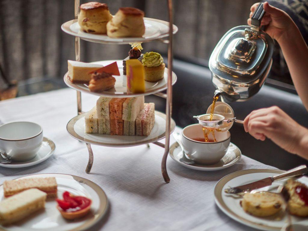 afternoon tea London - The Wolseley