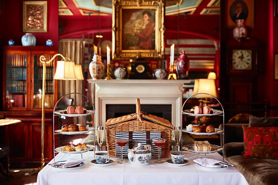 afternoon tea London - The Zetter Townhouse