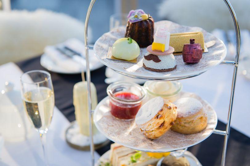 afternoon tea London - Vintry & Mercer
