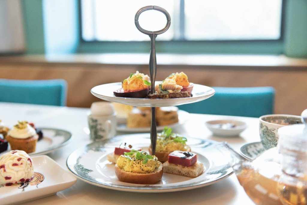 afternoon tea London - The Wellcome Collection