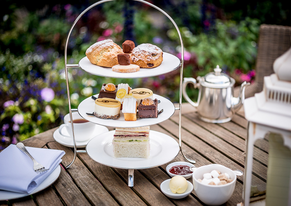 afternoon tea chichester - Amberley Castle