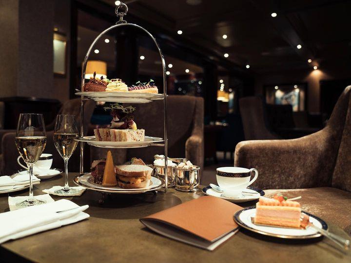 afternoon tea chester - Grosvenor hotel