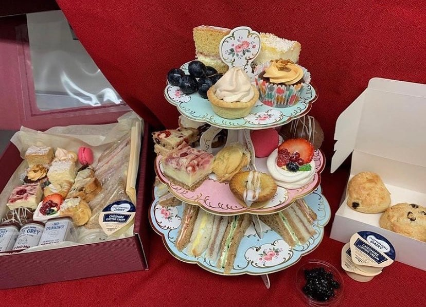 afternoon tea chester - davenports tea rooms